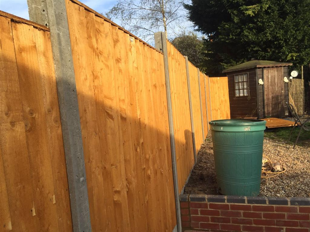 Wooden Fencing Shrewsbury