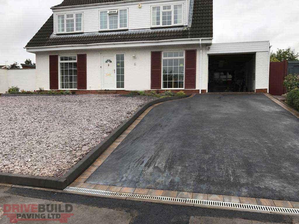 Asphalt driveway Bridgnorth