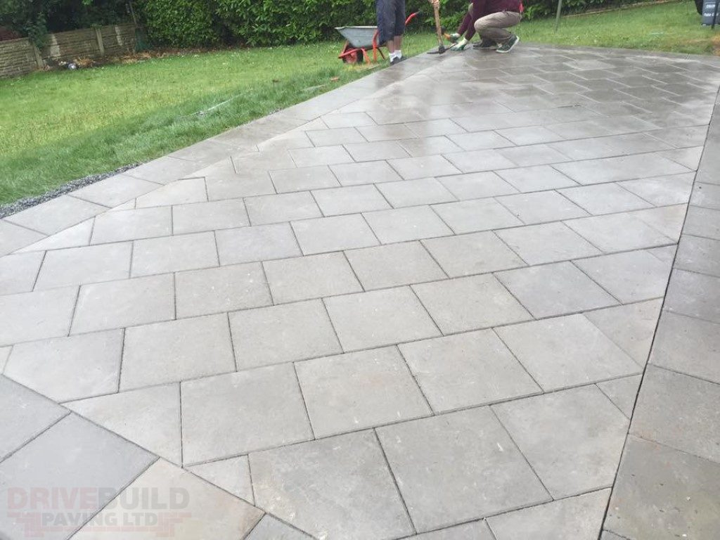 Patio Paving in Shropshire